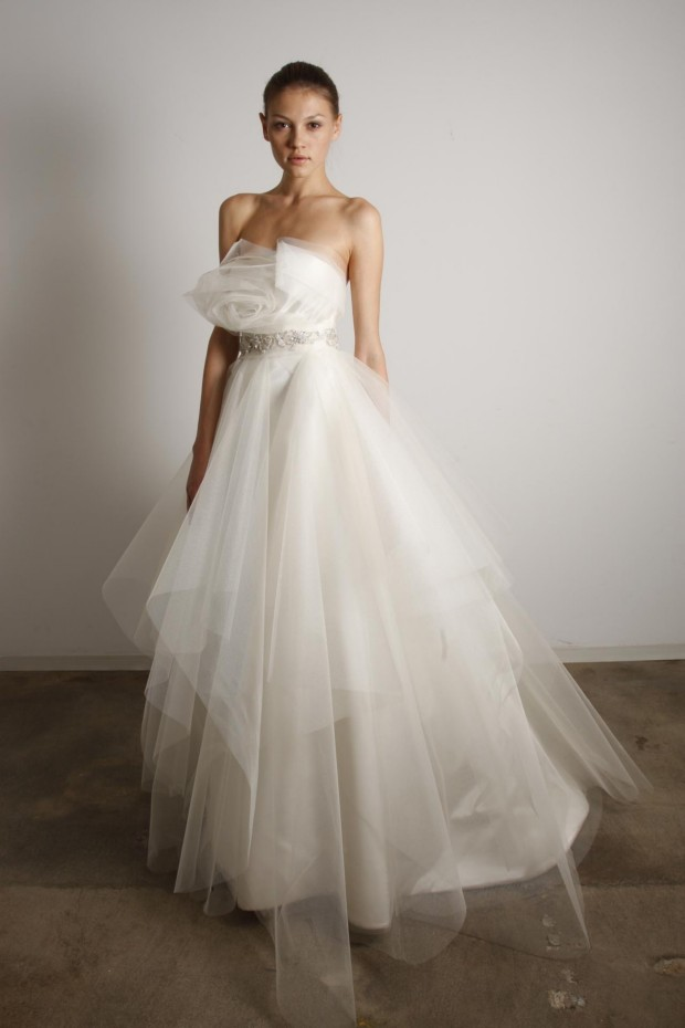 Marchesa wedding dresses for Wedding dresses for small frames