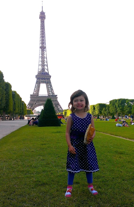 elodie at Eiffel Tower