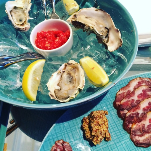Claremont Hotel Oysters